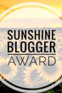 Sunflower field with logo