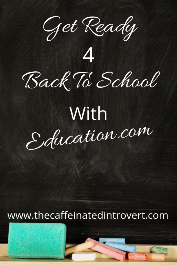 Blackboard with words that says Get ready for back to school with Education