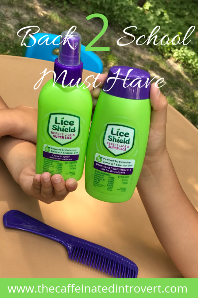 Two bottles of Lice Shield