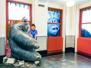 Boys with King Kong at Empire State Building