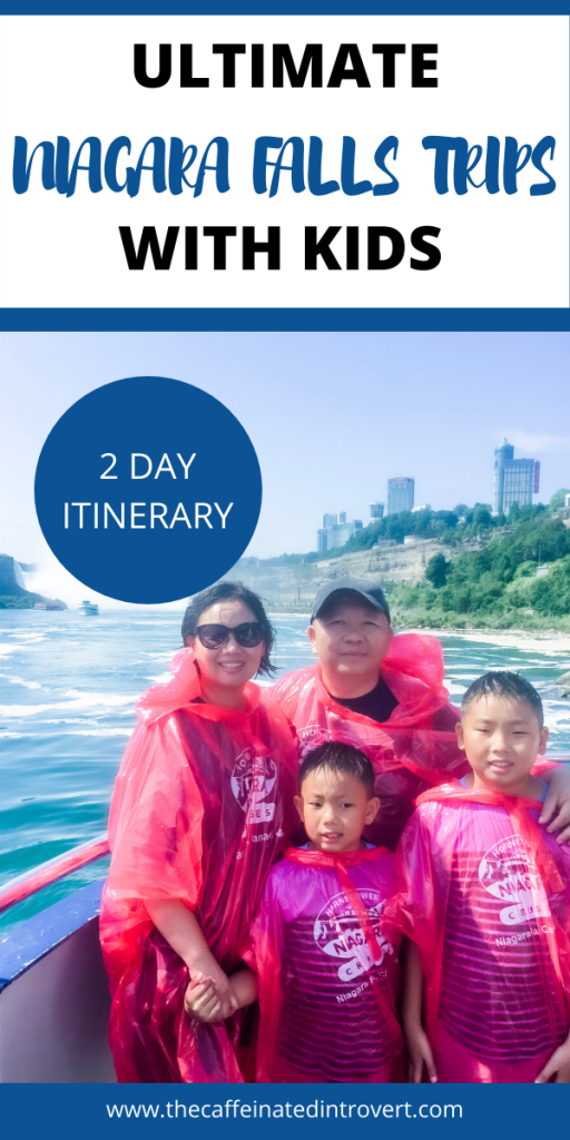 Family in Niagara Falls