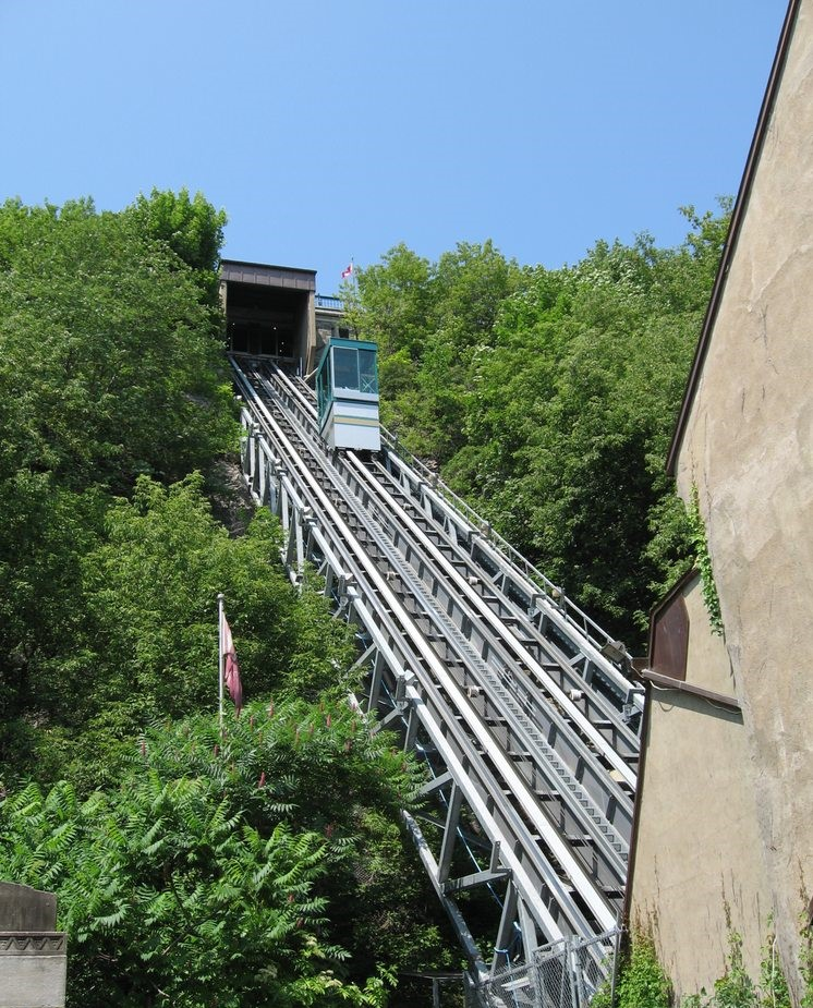 Ride the Funicular in Quebec City