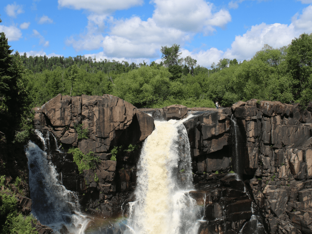 High Falls at Grand Portage State Parl